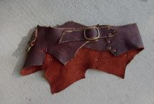 shoemaking, leather working, medicine bags