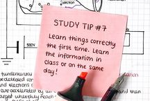 study notes & tips