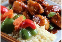 Poulet général Tao sans friteuse