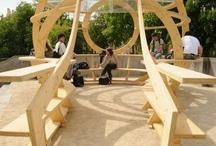 Furniture fesign for urban area / by Stefan Rusev