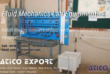 Fluid Mechanics Lab Equipment / If you are going to purchase any science's items like: Fluid Mechanics Lab Equipment. And confused to choose best dealer. Then you should not worry, just come to Atico Export. They are well know reputed manufacturer and dealer in world wide. Their head office is in ambala but also have braches offices in out of india like Dubai, South Africa. They are well known because of their quality in services.