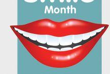 National Smile Month 2016 / http://www.ravatandray.com/national-smile-month-2016/