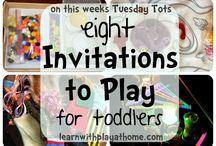Invitations to Play & Treasure Baskets