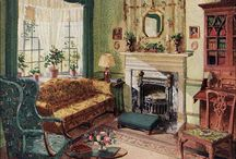 Early American/Colonial Decorating