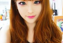 Hair color for Asian