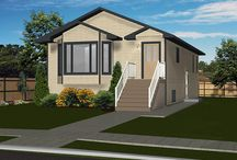 House Plans with Basement Suites / Rent out the basement to help pay your mortgage or just make a little extra income.
