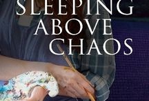"""Sleeping Above Chaos / In her fourth novel set in Black Mountain, North Carolina, Ann Hite weaves rich historical research into a tightly woven story Imagine the relationship triangle from """"East of Eden"""" and set it deep in the Appalachian Mountains. Add a couple of ghosts, a good measure of dysfunction, and a whole lot of twists and turns, and you have Ann Hite's new Black Mountain novel, Sleeping Above Chaos."""