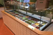 Sandwich & Salad Prep Fridges / Here is a range of commercial sandwich bars and salad prep fridges