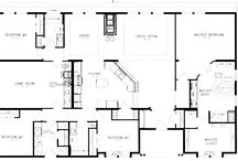 House plans / Future home ideas