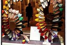 etalage schoenen