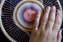 плетение коврики