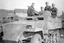 WW2 - SDKFZ 250/10 / Sd.Kfz. 250/10– pojazd z armatą 37 mm