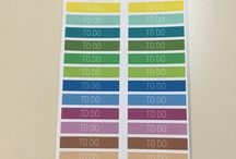 Box Labels / Current box labels available in our shop! http://plannerglitz.com/product-category/box-labels/