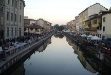 I navigli, Milano