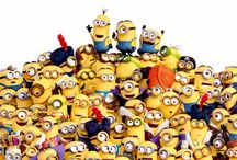 Minions / Yellow, cute and ABSOLUTELY needs Bananas!