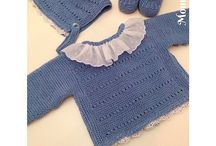Baby - knitting wearables / Knitting