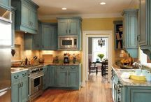 kitchen painting / Annie sloan paints