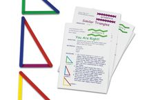 Geometry / We have all kinds of manipulatives to better understand geometry at every age.