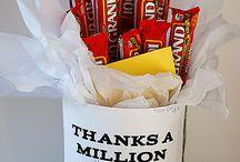 Thanks a Million Appreciation Gift Candy Bar Bouquet