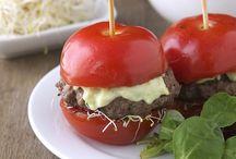Hamburguesas de tomate