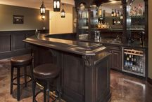 Basement/man cave / by Cassandra Bax