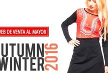 Otoño Invierno 2016-17 / Nueva colección en moda joven para mujeres de todas las edades..