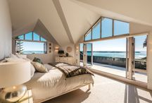 Bedrooms With A View / Where we'd rather wake up! Our collection of the most gorgeous bedrooms, featuring plenty of fluffy pillows and inspiring views.