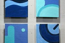pannelli blu
