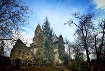 Biserica Densuş /  Poarta de intrare dinspre nord în Ţara Haţegului.