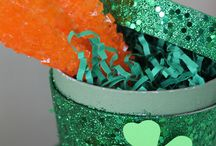 {Flaired Affairs Event} St Patricks Day Dessert Tablescape