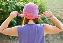 шарфы на голову