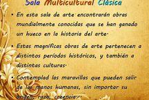 Sala Multicultural Clásica / Tarea global historia del arte.