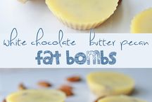 Fat Bombs for my LCHF/Keto Diet