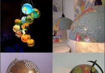 Upcycled globes and maps / by Kathleen Pharis