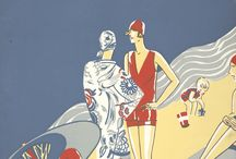 Vintage Fashion Posters / Department stores, fashion spreads, and all things having to do with vintage clothing.