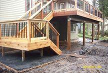Deck/Garage