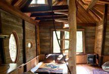 cabanes bois