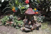 Don't piss off the Fairies! / Fairy Garden Ideas / by Cheryl Wilson