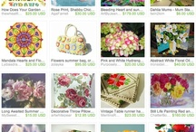 Etsy Treasuries / Etsy Treasuries either created by me or featuring my work