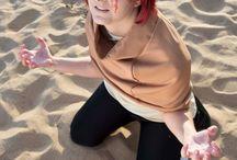 Gaara of the sand as a kid - Naruto / When he got his tatoo xD.  #gaara #naruto #cosplay #rydia #anime