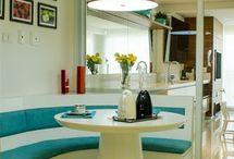 Copa / Confira lindas imagens de decoração de copa, decoração copa cozinha e decoração copa cozinha conjugada. Veja também decoração copa cozinha pequena e lindas ideias de decoração. Aproveite! #copa #decoracaodecopa #cozinhaconjugadacopa #copapequena
