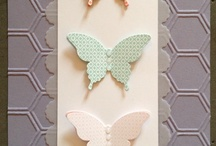Honeycomb folder / Stampin up