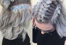 Perfect festival hair