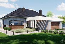 HomeKONCEPT 43 | Projekt domu / Projekt nowoczesnego domu parterowego o wyjątkowej koncepcji architektonicznej https://www.homekoncept.com.pl/produkt/projekt-domu-homekoncept-43