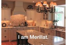 Kitchens & Baths Designed with Merillat / Wonderful kitchen and bath transformations from our incredible team of dealers and designers.  Submit your kitchen transformations at http://www.merillat.com/iammerillat.