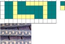 Tablet weaved patterns and items