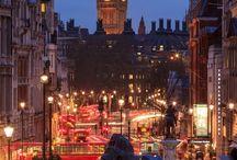 England/ Inglaterra (London/ Londres) / by Mauro Durán