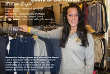 September 2016 Coker Bookstore Cobra of the Month Madison Bingle / I am a consistent visitor of the bookstore and am always looking for cool new Coker gear. My overarching goal is to put Coker on the map, and ultimately display all the great things this small liberal arts school has to offer. ~Madison Bingle, Coker Bookstore Cobra of the Month Sept 2016