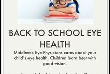 Back to School / Childs eye health