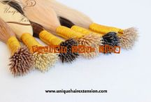 Nano ring hair extensions / best quality nano ring hair extensions,manufacturer by Qingdao Unique Hair Products Co.,Ltd.  we are as hair extensions factory in China for more than 10 years, contact us for specifications  www.uniquehairextension.com